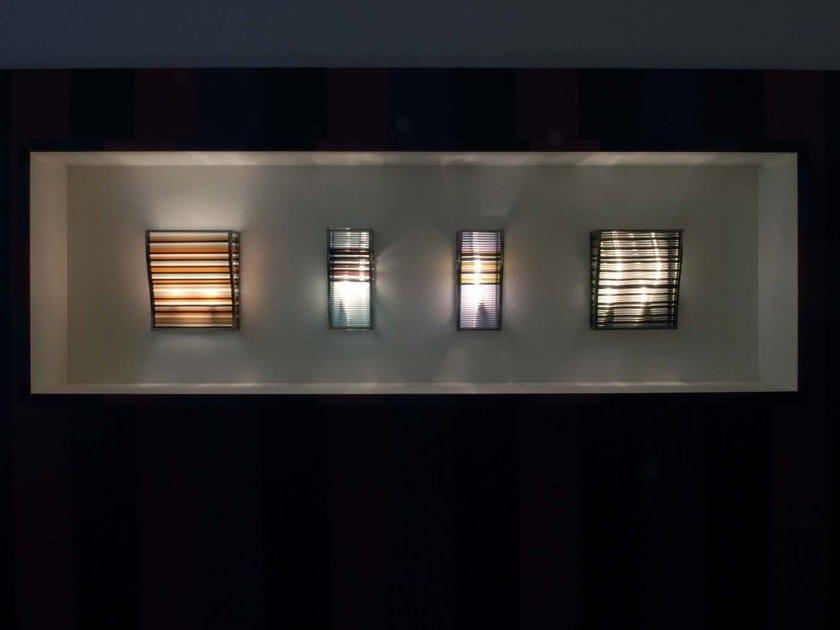Applique in vetro di murano mikado applique in vetro di murano