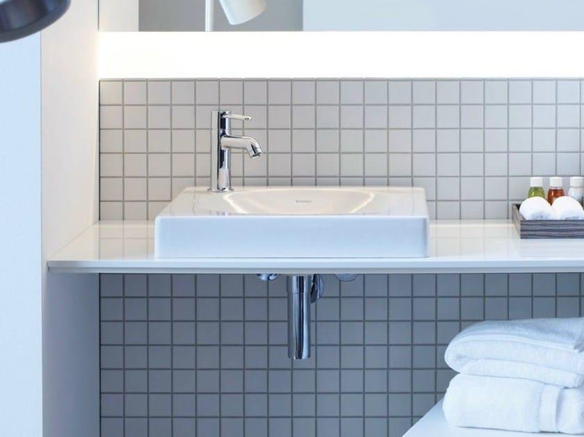 Countertop rectangular washbasin X - LARGE | Countertop washbasin by Duravit