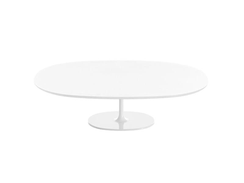 Tavolino basso ovale