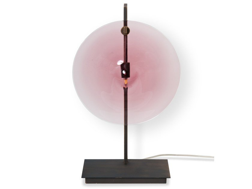 Murano glass table lamp ORBE | Table lamp by Veronese