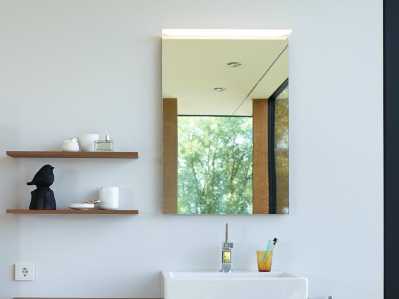Bathroom mirror X - LARGE | Bathroom mirror by Duravit