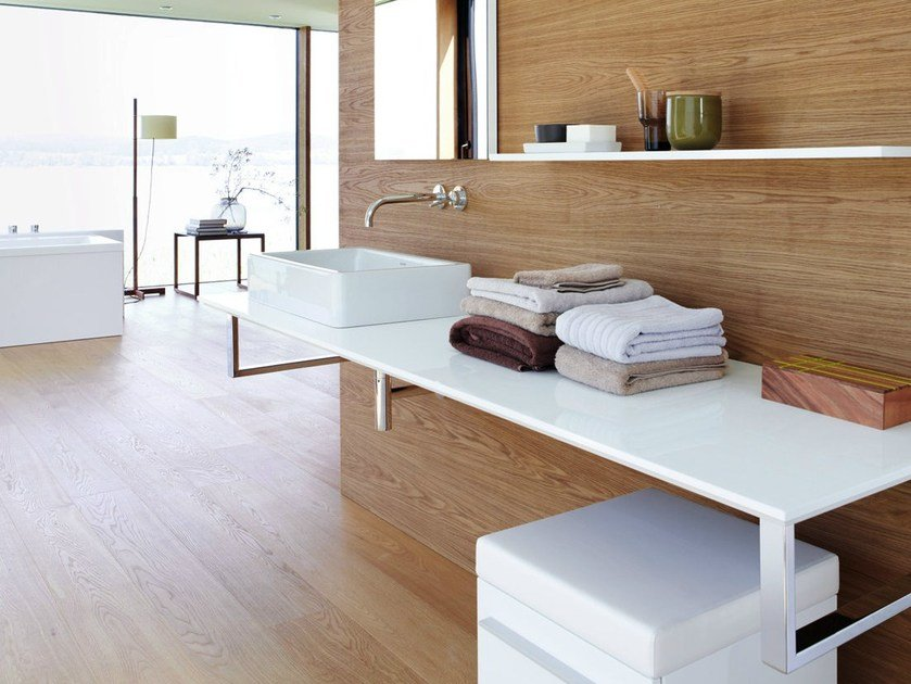 Washbasin countertop X - LARGE | Washbasin countertop by Duravit