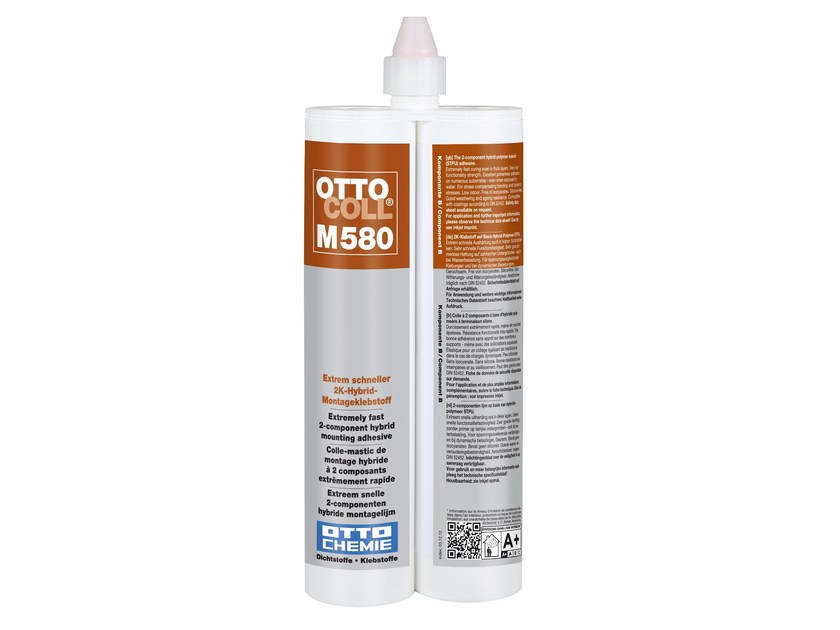 Extremely fast hybrid mounting adhesive OTTOCOLL® M 580 by 8-Chemie