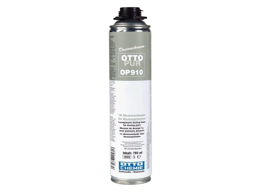 Schiuma dosabile monocomponente per pistole applicatrici OTTOPUR OP 910 by 8-Chemie