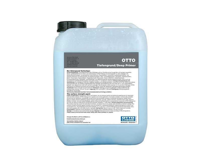 Substrate strength agent OTTO Tiefengrund by 8-Chemie