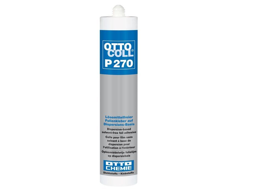 Dispersion-based solvent-free foil adhesive OTTOCOLL® P 270 by 8-Chemie