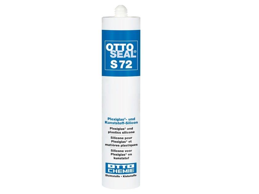 Plexiglas® and plastics silicone OTTOSEAL® S 72 by 8-Chemie