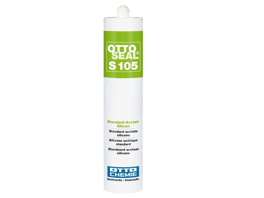 Standard acetate silicone OTTOSEAL® S 105 by 8-Chemie