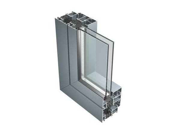 Aluminium thermal break window 67IW by ALUK Group
