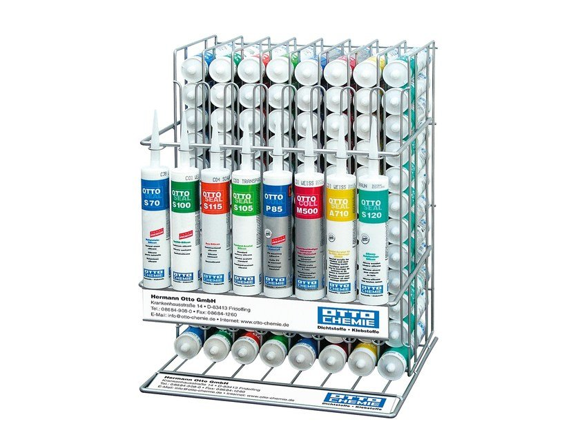 Cartridge stand OTTO | Display unit by 8-Chemie