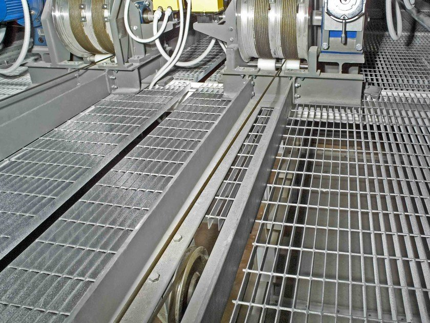 Electro-welded steel grating system POTISSIMUM® INDUSTRIE by NUOVA DEFIM