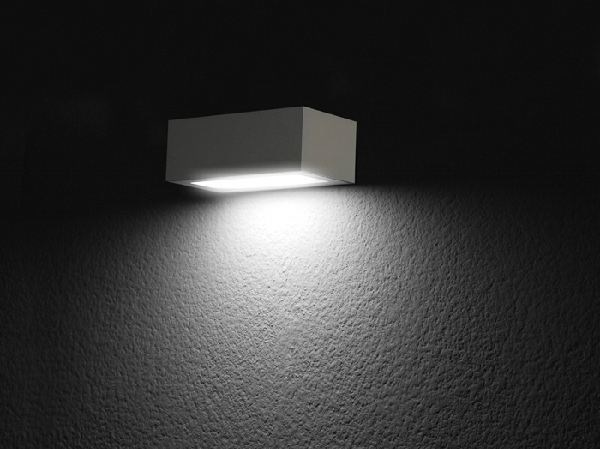 Lampada da parete a led a luce diretta trend lombardo