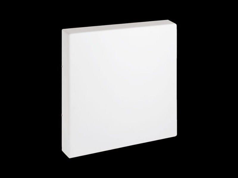 Applique led watt per esterno lampada cubo a parete moderna