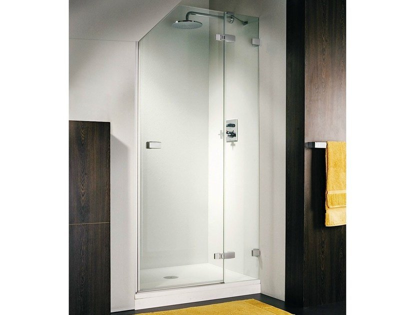 Niche shower cabin with hinged door VETRA 3000 by Duka