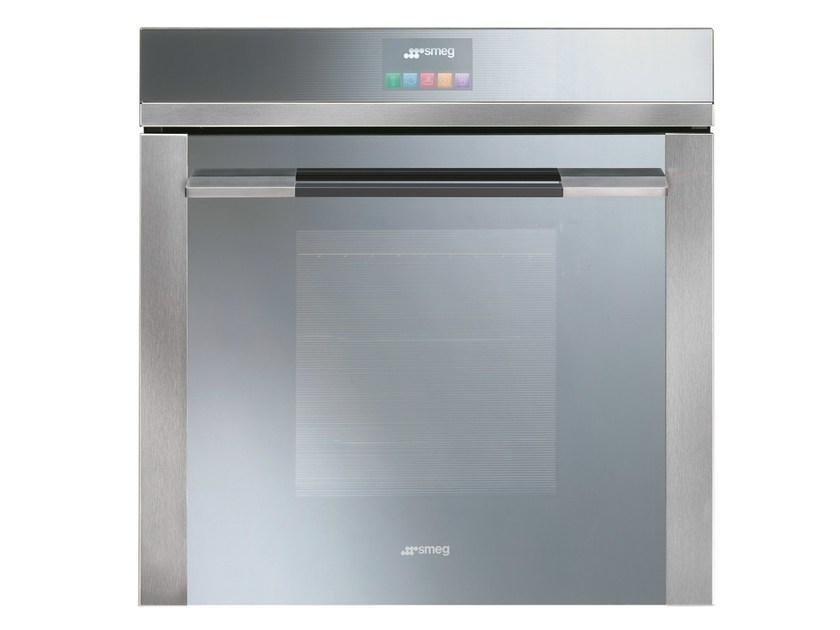 Pyrolitic thermoventilated electronic control oven SFP140E | Thermoventilated oven by Smeg
