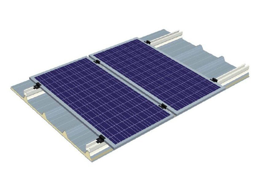 Support for photovoltaic system ITP SYSTEM by ITALPANNELLI