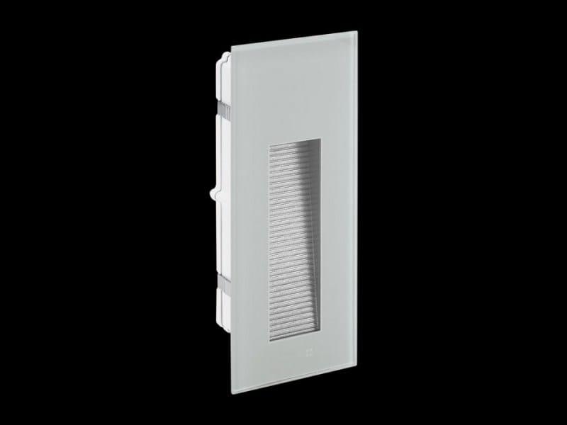 LED wall-mounted steplight STILE NEXT 506L ASIMMETRICO by Lombardo