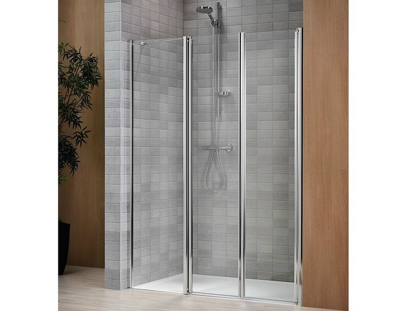 Crystal shower cabin with tray VELA 2000 by Duka