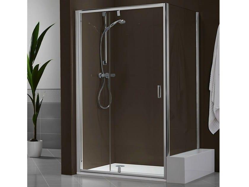 Box doccia in cristallo con porta scorrevole DUKESSA-S 3000 - Duka