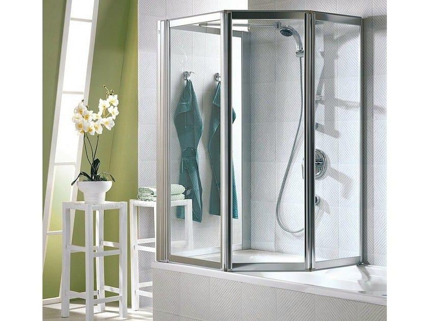 Crystal bathtub wall panel MULTI 3000 GLASS by Duka