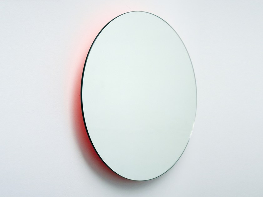 Wall-mounted round mirror MOONLIGHT | Round mirror by Covo
