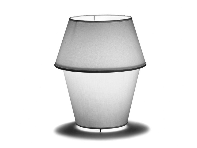 Canvas table lamp MING by Covo