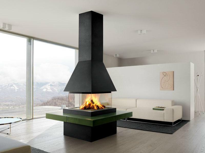 Faïence Fireplace Mantel LUND by Piazzetta
