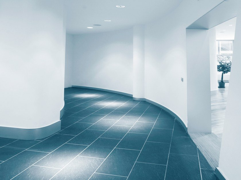 Dry-laid cement and fibre cement sheet AQUAPANEL FLOOR MF by Knauf Italia