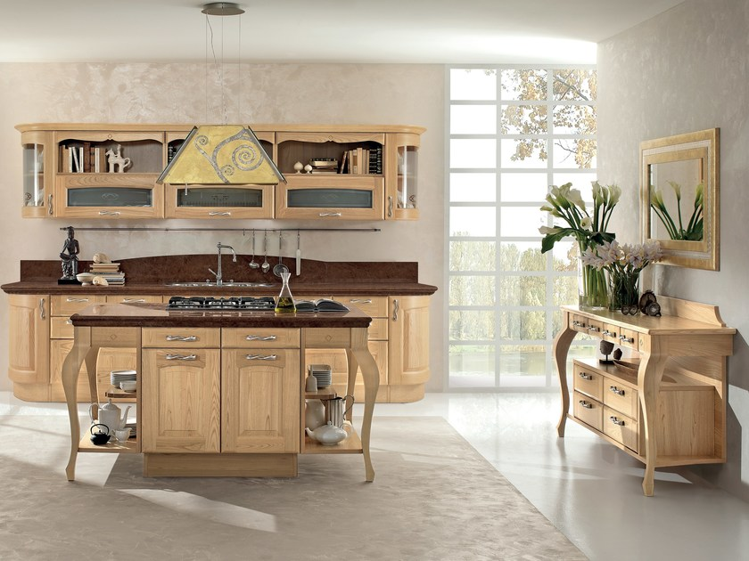 VERONICA | Wooden kitchen By Cucine Lube