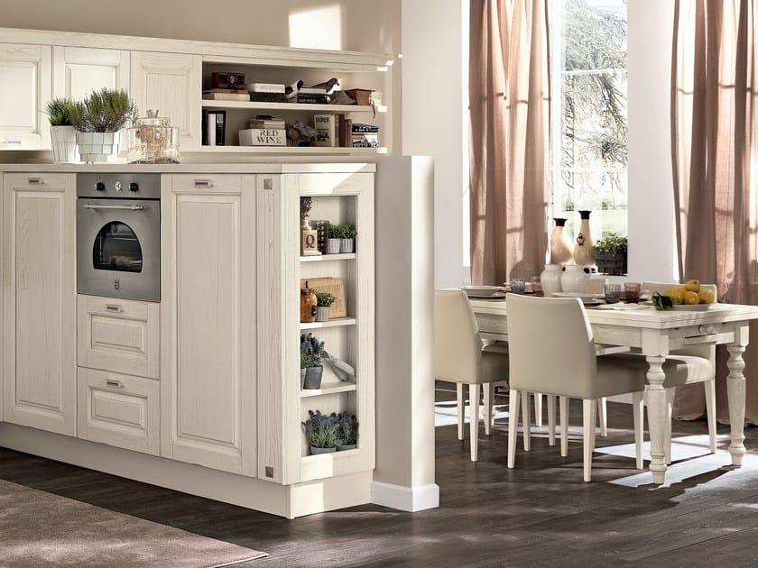 Cucina in legno con maniglie LAURA | Cucina con maniglie ...