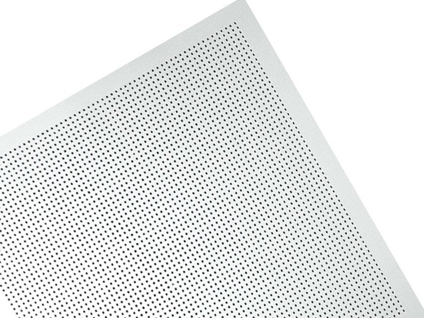 Plasterboard ceiling tiles MICRO M1 by Knauf Italia