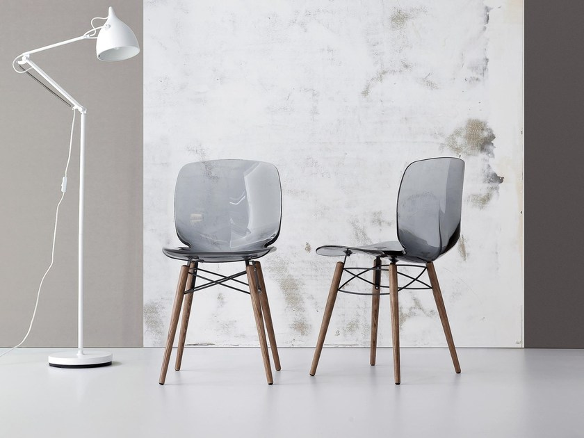 Plastic chair LOTO W by Bonaldo