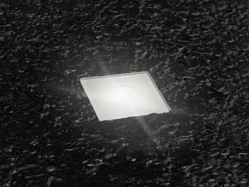 LED walkover light steplight STILE NEXT ZERO 60Q by Lombardo
