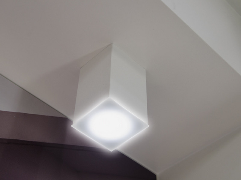 LED cement ceiling lamp CEMENTO STYLE 120Q | Ceiling lamp by Lombardo