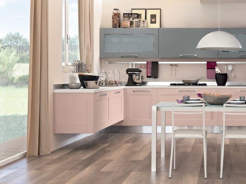 Cucina laccata con maniglie GALLERY | Cucina laccata ...