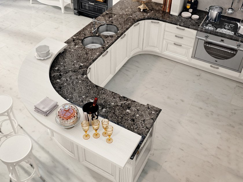Cucina decapata con maniglie PANTHEON | Cucina - Cucine Lube