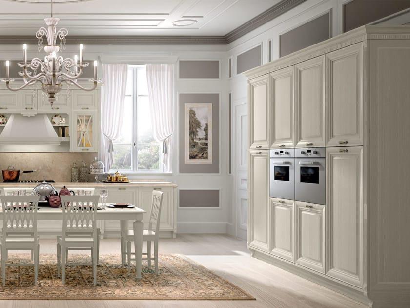Pantheon wooden kitchen by cucine lube for Cucine antiche moderne