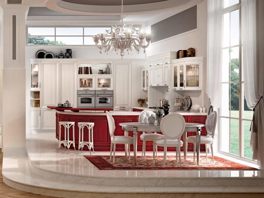 Cucina decapata con maniglie PANTHEON | Cucina con maniglie ...