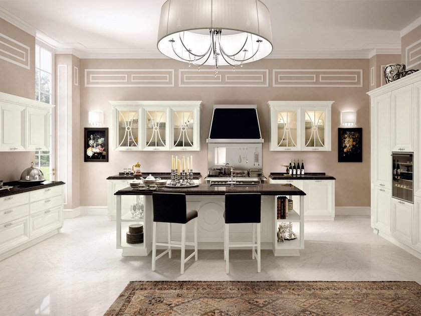 PANTHEON | Cucina con isola By Cucine Lube