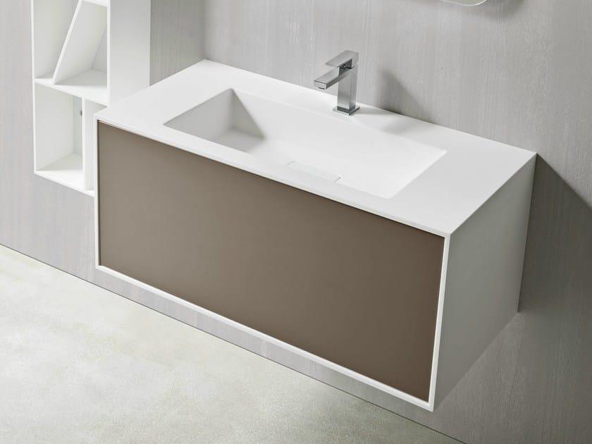 UNICO | Mobile lavabo in Corian®
