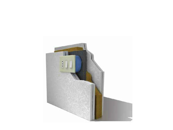 System to protect against fire penetration F-BOX® by Knauf Italia