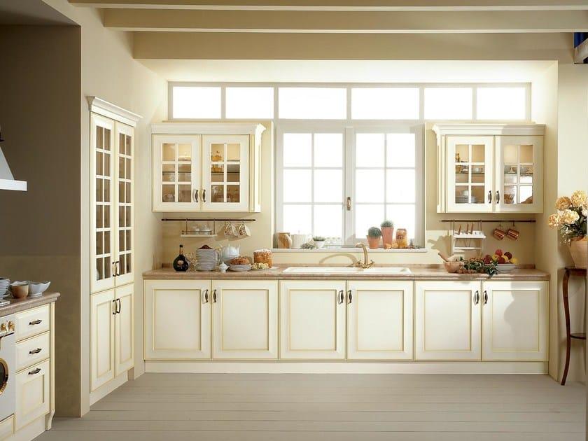 VELIA LACCATA | Cucina con maniglie By Cucine Lube