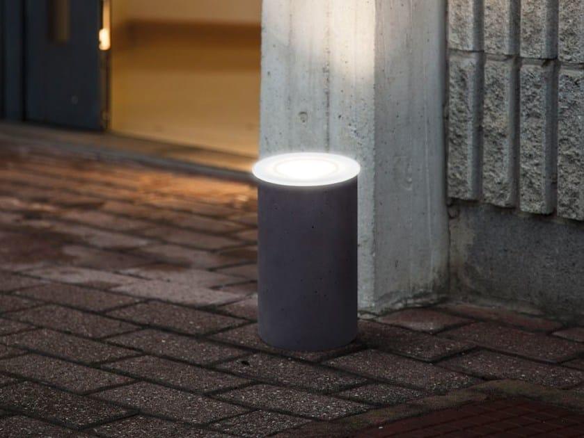 Cement Floor lamp CEMENTO STYLE 120T | Floor lamp by Lombardo
