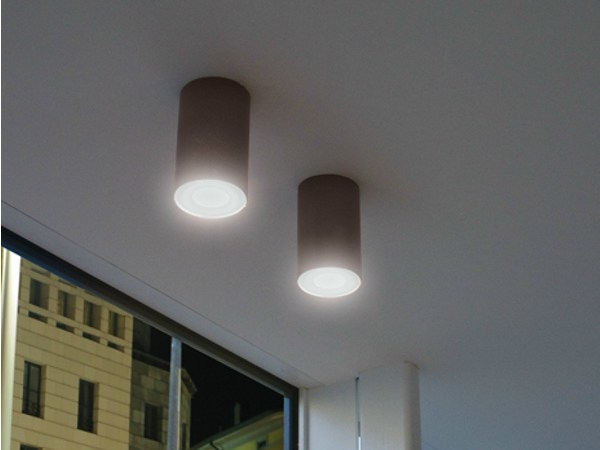 LED cement ceiling lamp CEMENTO STYLE 120T | Ceiling lamp by Lombardo