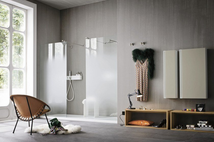 ERGO-NOMIC | Pensile bagno in Corian®