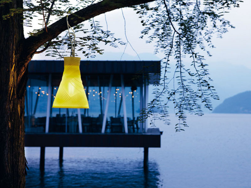 Silicone pendant lamp BELL | Pendant lamp by Lombardo