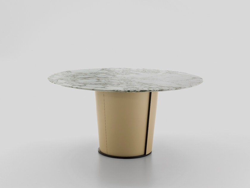 Round table PAPIER | Marble table by i 4 Mariani