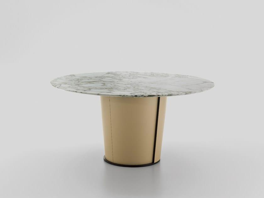 PAPIER | Tavolo in marmo Tavolo rotondo
