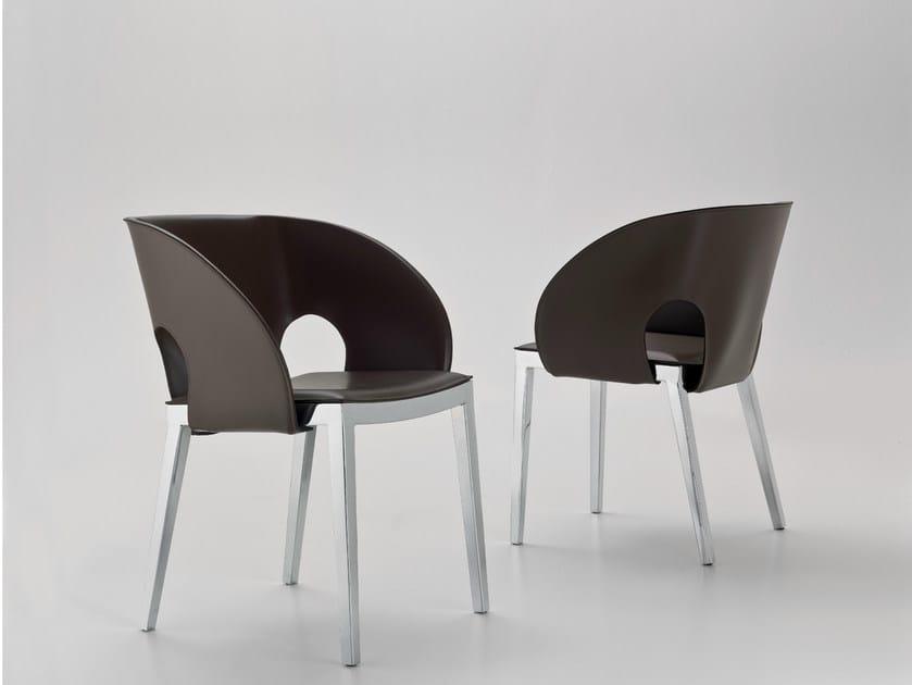 VOILE | Sedia in acciaio Sedia