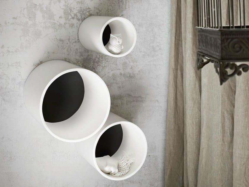 Korakril™ wall cabinet HOLE | Wall cabinet by Rexa Design
